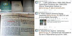 """Inilah Hasil Tabayyun Fahira Idris ke Kepala LPMQ Kemenag RI Terkait Perbedaan Terjemahan Al-Quran  [portalpiyungan.com]Polemik perbedaan terjemahan kata """"Awliya"""" dalam Al-Quran yang mencuat usai kasus penistaan Surah Al-Maidah ayat 51 oleh Basuki Tjahaja Purnama (Ahok) akhirnya mencapai titik terang. Usai ditemukan perbedaan terjemahan kata """"Awliya"""" pada Al-Quran hasil terbitan Magfirah Pustaka aktivis sekaligus anggota DPD RI DKI Jakarta Fahira Idris melalui akun twitternya…"""