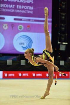 Yana Kudryavtseva (Russia) # Euronean Championsips 2014, Minsk, Belarus #May 1- 3 # 2 day