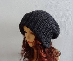 Super Slouchy Beanie Big Baggy Hat Winter Adult Teen Fashion