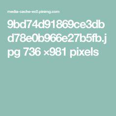 9bd74d91869ce3dbd78e0b966e27b5fb.jpg 736 ×981 pixels