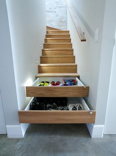 Make your stairs more useful.