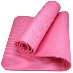 NBR Yoga Mat 10mm EVA Anti-skid Nonslip Yoga Mat With 6 Different Colors