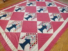 MOST BEAUTIFUL Antique c1920 Tree of Life QUILT TOP Tiny Hand Piecing, eBay, vintageblessings