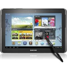 Samsung Galaxy Note 10.1 Black! Had my tablet for almost a year and I still love it! Totally done with Apple except the kids still have an iPad Mini and my iPod :)