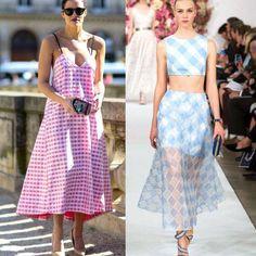 vestidos-gingham style