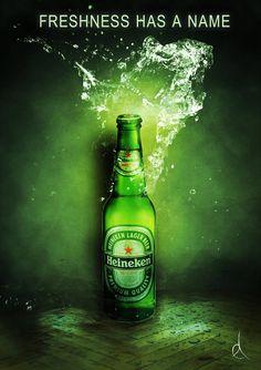 Heineken - Corporate Storytelling - Powered by DataID Nederland Bar Drinks, Alcoholic Drinks, Cheers, Brand Advertising, Beer Poster, Advertising Photography, Best Beer, Brewery, Beer Pong