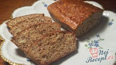 Zdravý chléb bez mouky | NejRecept.cz Slovak Recipes, Czech Recipes, Low Carb Recipes, Bread Recipes, Cooking Recipes, German Bakery, Cookie Do, Sans Gluten, Vegan Desserts