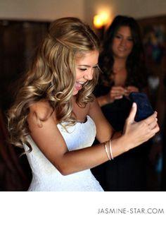Romantic wedding hair style by Allie Paronelli