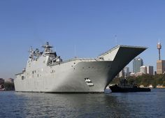 NUSHIP Adelaide Staff Learns about LHD | Naval Today