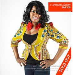 Serwa African Blazer ~African fashion, Ankara, kitenge, African women dresses, African prints, African men's fashion, Nigerian style, Ghanaian fashion ~DKK