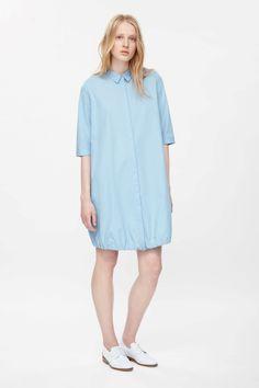 COS | Drawstring shirt dress