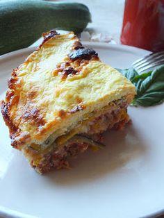 Ízőrző: Rakott cukkini (gluténmentes) Ethnic Recipes, Food, Lasagna, Essen, Meals, Yemek, Eten