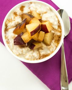 Overnight Chilled Plum-Oatmeal Pudding   15 Recipes For Overnight Oats To Start Your Day With