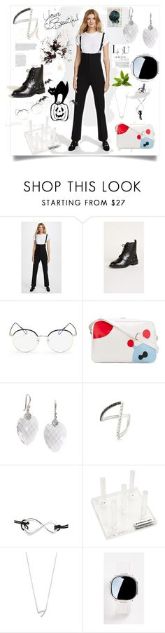 """""""Overall Trousers..**"""" by yagna on Polyvore featuring Rebecca Minkoff, Stephane + Christian, Walter Van Beirendonck, Elizabeth Showers, Yvonne Léon, Montblanc, GLAMbox, Jennifer Zeuner and Elizabeth and James"""