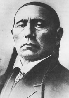 Quanah Parker, son of Pete Nocona and Cynthia Ann Parker, from the Comanche band Noconis...