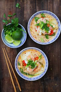 Hot & Sour Red Thai Prawn Noodle Recipe | The Mother Cooker