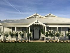 weatherboard in paperbark and antique white - Google Search