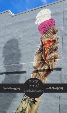 Christchurch Street Art - A photo journey ~ Globeblogging