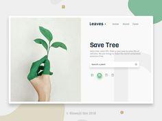 Leaves - UI UX Design
