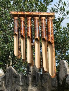 bamboo wind chimes - Google Search