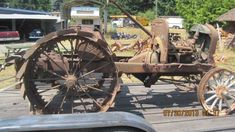 Model T Ford Forum: Show Us Your T Doodlebug or Conversion Tractor!!