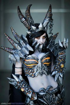 Female deathwing cosplay