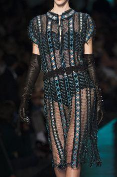 Jean Paul Gaultier Spring 2014 - Details