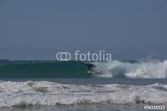 Surfen an der Playa Hermosa in Costa Rica