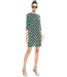 The Secret to Pulling Off Polka Dots Without Looking Childish via @WhoWhatWear