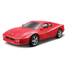 Bburago Ferrari Series Race and Play 1:43 Scale Diecast Car - 512 TR Red Ferrari $9.99  #BestRevews