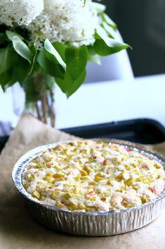 Raparperipiirakka on kesän merkki Macaroni And Cheese, Cereal, Baking, Vegetables, Breakfast, Ethnic Recipes, Food, Morning Coffee, Mac And Cheese