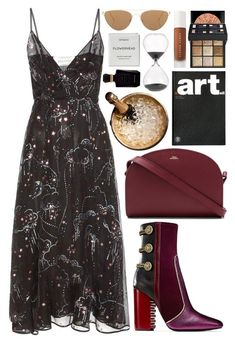 """""""January 8"""" by mariimontero ❤ liked on Polyvore featuring Valentino, A.P.C., Kartell, Givenchy, Oliver Peoples, Pols Potten, Puma, Byredo and Keiko Mecheri"""