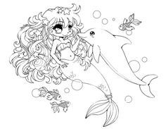 Under the Sea :: Open Lineart :: by YamPuff.deviantart.com on @DeviantArt