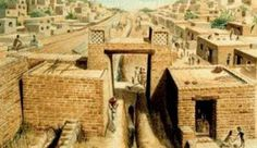 Another view of an Indus Valley city, probably Mohenjo Daro, ca. The Indus Valley Civilization laid much of the groundwork for what would become Indian culture including the beginnings of yoga; statues of men in yogic asanas have been found. Ancient Aliens, Ancient Egypt, Ancient History, European History, Ancient Artifacts, Ancient Greece, Art History, American History, Bronze Age Civilization