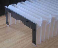 DIY bellows from polyprop sheet