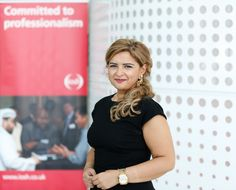 Maisaa Nasrallah, chair of the new IOSH UAE Branch at the IOSH Middle East Conference 2014.
