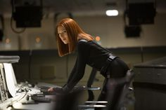 Captain America: Scarlett Johansson on the Black Widow, Stunts, and That Tight Costume!