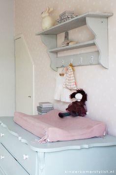 #nursery #Babykamer #pastel | Styling Kinderkamerstylist.nl
