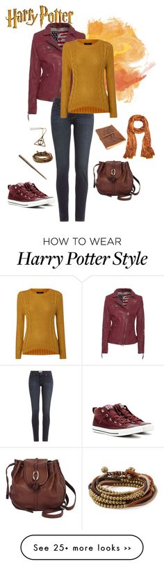 """Hermione"" by asilosky on Polyvore featuring True Religion, Paige Denim, Converse, Therapy, Brighton, Serefina and Patricia Nash"