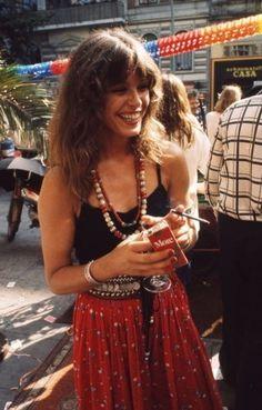 Vintage Muse du Jour: Uschi Obermaier - Fashion Show - Fashion Look Hippie Chic, Looks Hippie, Hippie Man, Hippie Boho, Boho Chic, Vintage Hippie, Vintage Style, Boho Style, 1970s Hippie