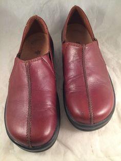 FOOTPRINTS by BIRKENSTOCK Teak Brown CAMBRIA Slip On Loafers Sz 37/240 #Birkenstock #LoafersMoccasins
