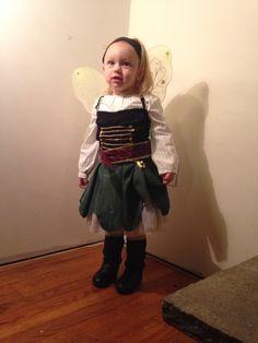 Pirate zarina fairy costume DIY
