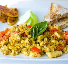 Cooking with Grace Main course vegetarian  by MOUSEPAD228, $2.00  This delightful vegan breakfast dish will satisfy the whole family. Packed with nutrients and flavour, this Tofu Scramble Recipe is likely to become a staple in your breakfast recipe repertoire.  Create your OWN recipe book for the low price of just 2 dollars an instant download using The Cooking with Grace Beginners Recipe Book Series!  http://www.etsy.com/shop/MOUSEPAD228