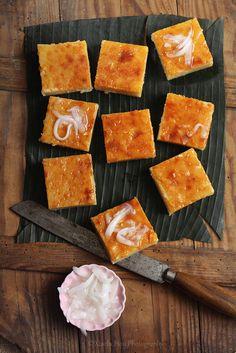 Coconut Cassava Bars: Vietnamese/Filipino-inspired and naturally #glutenfree #recipe!