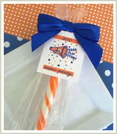 Cheer Gifts - easy to make yourself Cheer Treats, Cheer Team Gifts, Cheer Coaches, Cheer Party, Cheer Mom, Cheer Stuff, Cheer Spirit, Spirit Gifts, Cheerleading Crafts