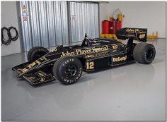 Ayrton Senna Lotus Renault 98T F1. Sywell Airshow 2010.