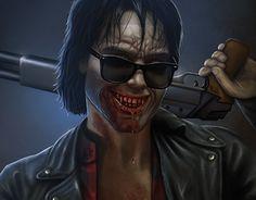 "Check out new work on my @Behance portfolio: ""Severen, the vampire""…"