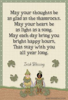 Amretasgraphics Blog: 23 Irish Blessings - Day 20