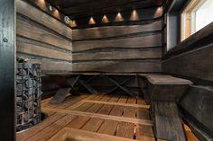 Cozy Sauna Shower Combo Decorating Ideas - Page 25 of 32 Sauna House, Sauna Room, Saunas, Sauna Lights, Piscina Spa, Building A Sauna, Sauna Shower, Bathroom Renovation Cost, Sauna Design