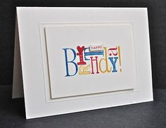 Stampin' Up ideas and supplies from Vicky at Crafting Clare's Paper Moments: Happiest Birthday Wishes for a teen